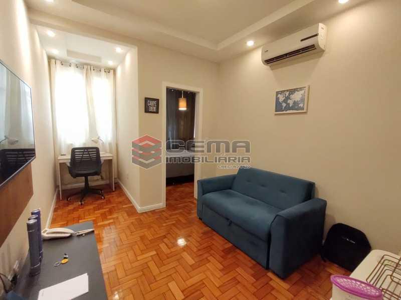 SALA - Excelente apartamento quarto e sala mobiliado no FLAMENGO - LAAP12784 - 1