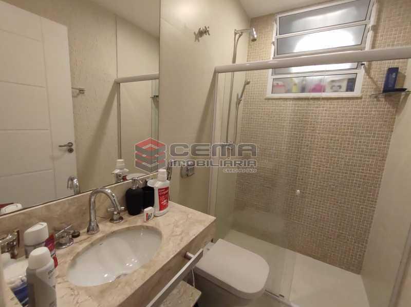 BANHEIRO SUITE - Excelente apartamento quarto e sala mobiliado no FLAMENGO - LAAP12784 - 12