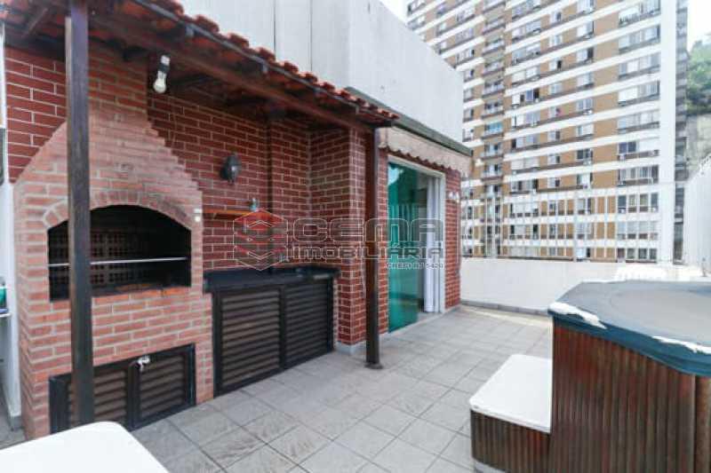 2fcd25c2-2bfa-4999-be6e-5315dc - Cobertura à venda Rua Marquesa de Santos,Laranjeiras, Zona Sul RJ - R$ 1.900.000 - LACO30295 - 4