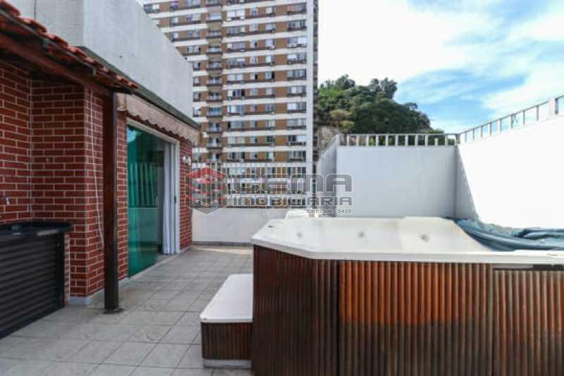 7b18348f-8258-4115-9819-6fe04c - Cobertura à venda Rua Marquesa de Santos,Laranjeiras, Zona Sul RJ - R$ 1.900.000 - LACO30295 - 3