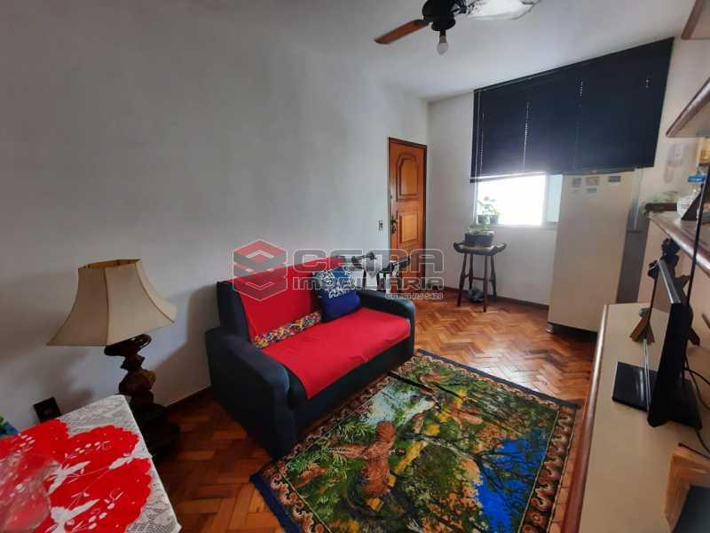 Sala - Apartamento 1 quarto à venda Catete, Zona Sul RJ - R$ 380.000 - LAAP12797 - 1
