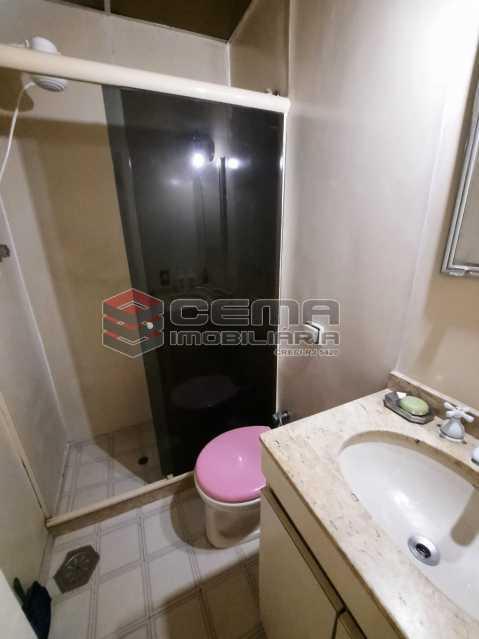 Banheiro - Apartamento 1 quarto à venda Catete, Zona Sul RJ - R$ 380.000 - LAAP12797 - 18