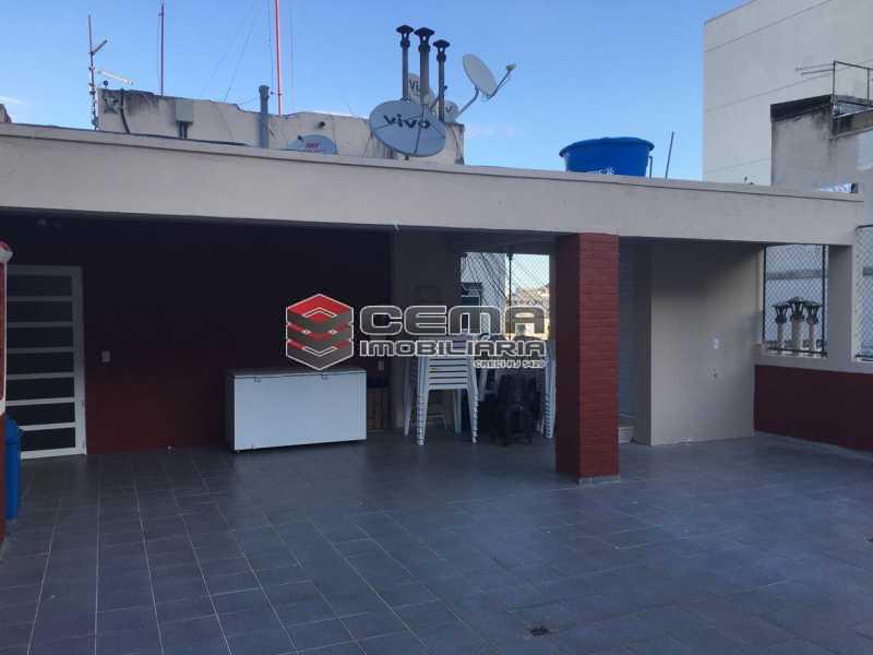Terraço/área de lazer - Apartamento 1 quarto à venda Catete, Zona Sul RJ - R$ 380.000 - LAAP12797 - 21