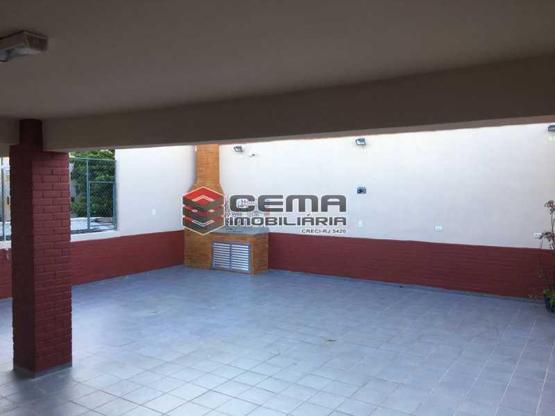 Terraço/áres de lazer - Apartamento 1 quarto à venda Catete, Zona Sul RJ - R$ 380.000 - LAAP12797 - 20