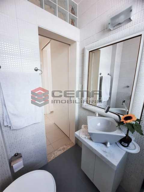 Banheiro - Apartamento 1 quarto à venda Botafogo, Zona Sul RJ - R$ 550.000 - LAAP12801 - 17
