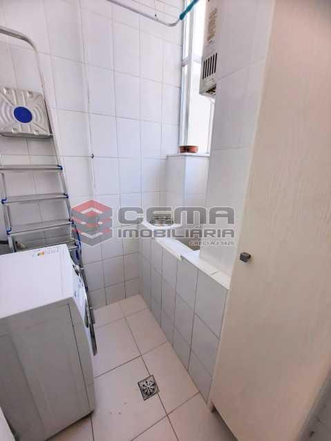 Área de serviço - Apartamento 1 quarto à venda Botafogo, Zona Sul RJ - R$ 550.000 - LAAP12801 - 23