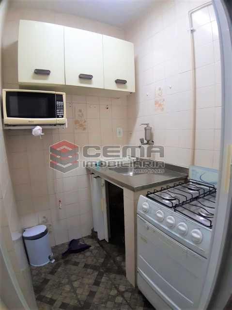 cozinha  - Apartamento 1 quarto para alugar Flamengo, Zona Sul RJ - R$ 1.300 - LAAP12806 - 10