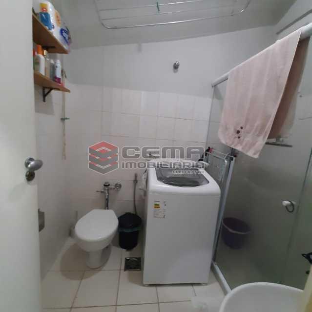 Banheiro vista 2 - Apartamento 1 quarto à venda Copacabana, Zona Sul RJ - R$ 545.000 - LAAP12809 - 11