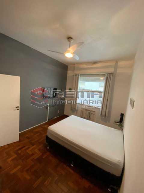 QUARTO 2 VISTA 2 - Apartamento 2 quartos à venda Ipanema, Zona Sul RJ - R$ 890.000 - LAAP25061 - 5