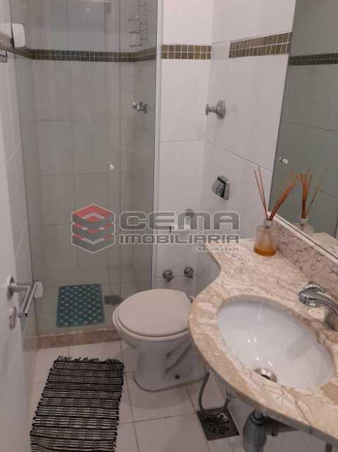 banheiro social - Apartamento 3 quartos à venda Lagoa, Zona Sul RJ - R$ 1.120.000 - LAAP34299 - 11