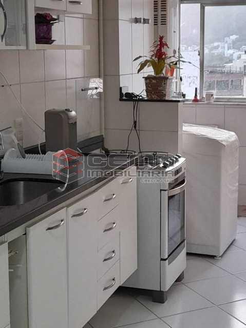 cozinha vista 2 - Apartamento 3 quartos à venda Lagoa, Zona Sul RJ - R$ 1.120.000 - LAAP34299 - 8