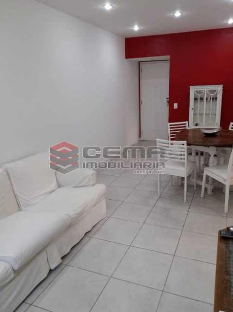 sala vista 2 - Apartamento 3 quartos à venda Lagoa, Zona Sul RJ - R$ 1.120.000 - LAAP34299 - 4