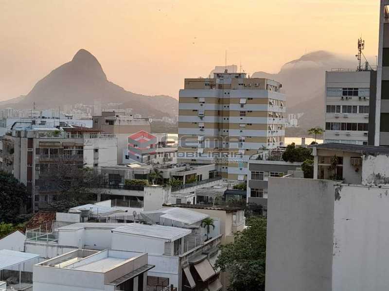 vista 2 - Apartamento 3 quartos à venda Lagoa, Zona Sul RJ - R$ 1.120.000 - LAAP34299 - 3