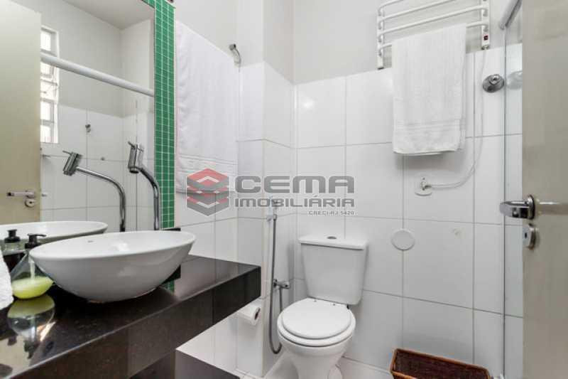 banheiro vista 2 - Apartamento 1 quarto à venda Copacabana, Zona Sul RJ - R$ 364.000 - LAAP12811 - 7