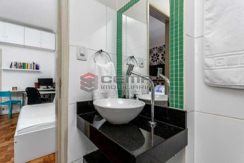 banheiro - Apartamento 1 quarto à venda Copacabana, Zona Sul RJ - R$ 364.000 - LAAP12811 - 8