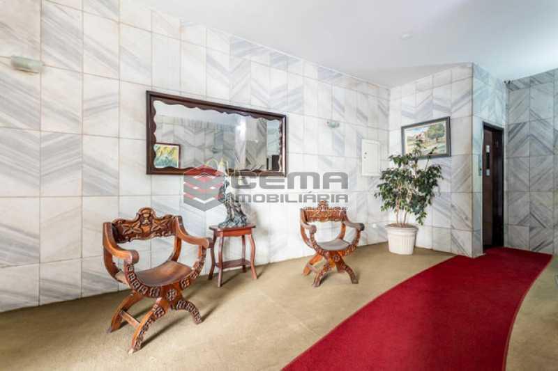 hall do prédio - Apartamento 1 quarto à venda Copacabana, Zona Sul RJ - R$ 364.000 - LAAP12811 - 6
