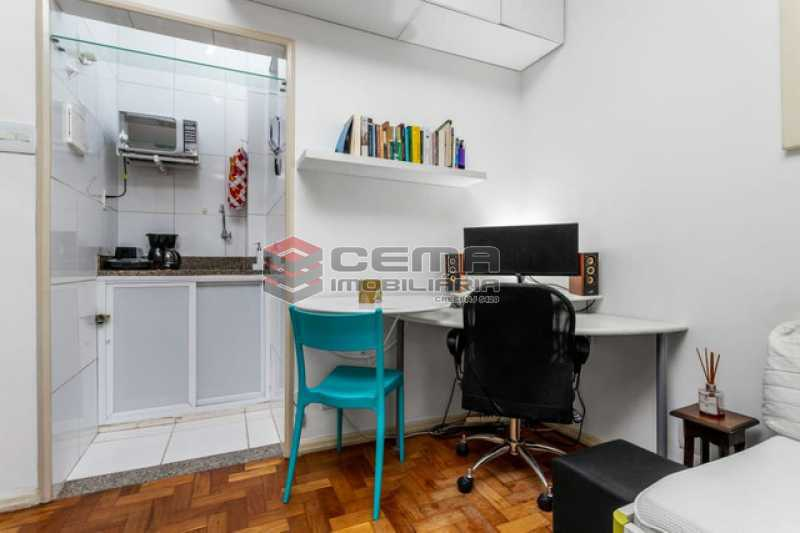 vista da sala 3 - Apartamento 1 quarto à venda Copacabana, Zona Sul RJ - R$ 364.000 - LAAP12811 - 5