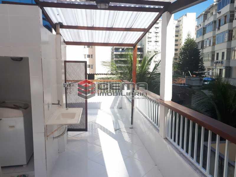 lavanderia terraço - Casa de Vila 4 quartos à venda Flamengo, Zona Sul RJ - R$ 850.000 - LACV40029 - 18
