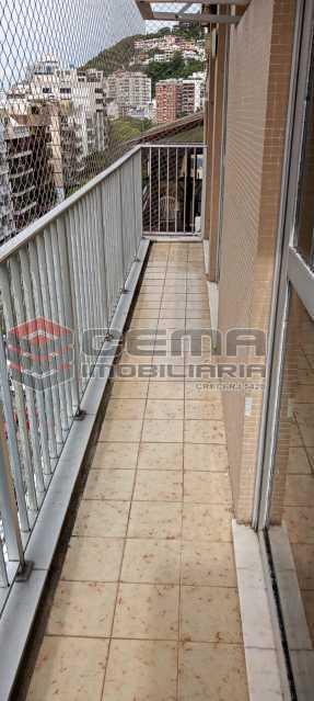 2-varanda - Cobertura 3 quartos à venda Lagoa, Zona Sul RJ - R$ 2.000.000 - LACO30296 - 3