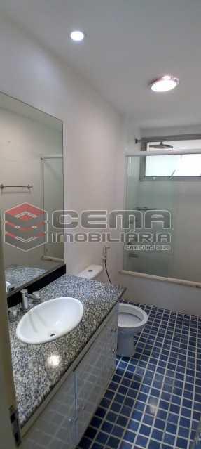 9-banheiro suíte - Cobertura 3 quartos à venda Lagoa, Zona Sul RJ - R$ 2.000.000 - LACO30296 - 10