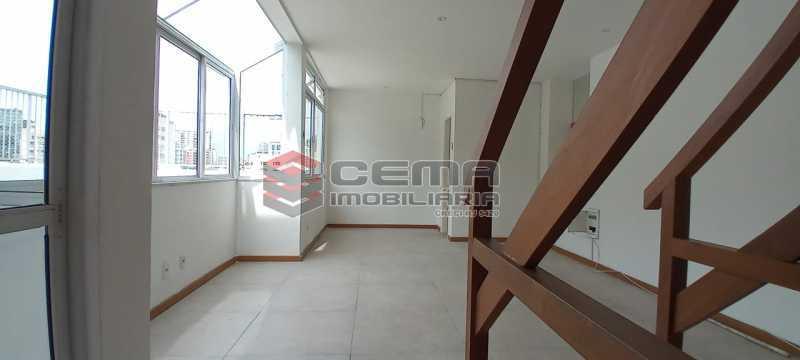 18-salão 2º piso - Cobertura 3 quartos à venda Lagoa, Zona Sul RJ - R$ 2.000.000 - LACO30296 - 19