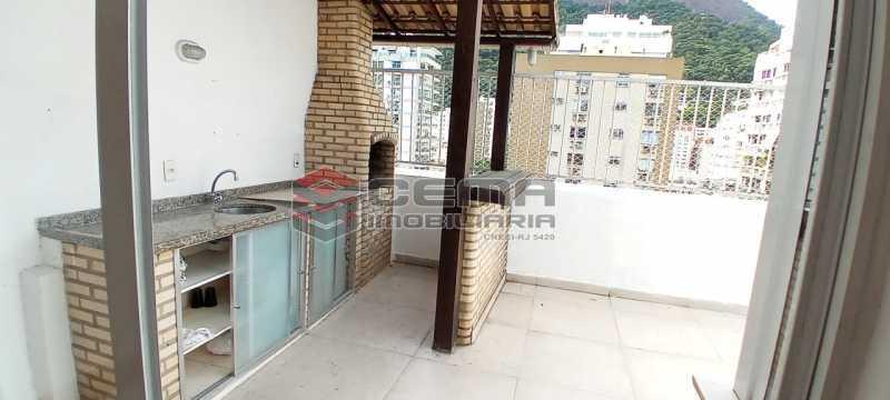 20-terraço com churrasqueira - Cobertura 3 quartos à venda Lagoa, Zona Sul RJ - R$ 2.000.000 - LACO30296 - 21