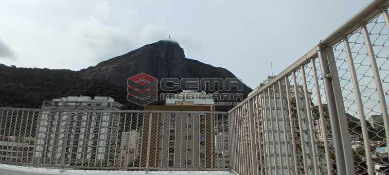 22-vista terraço - Cobertura 3 quartos à venda Lagoa, Zona Sul RJ - R$ 2.000.000 - LACO30296 - 23