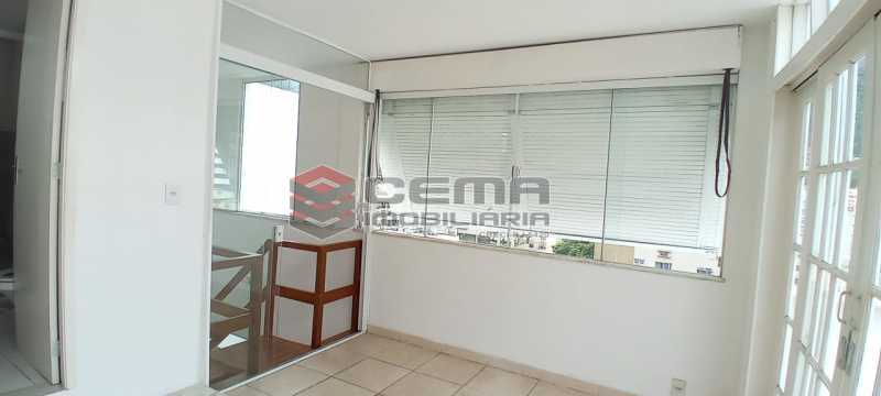 25-sala/quarto 3º piso - Cobertura 3 quartos à venda Lagoa, Zona Sul RJ - R$ 2.000.000 - LACO30296 - 26