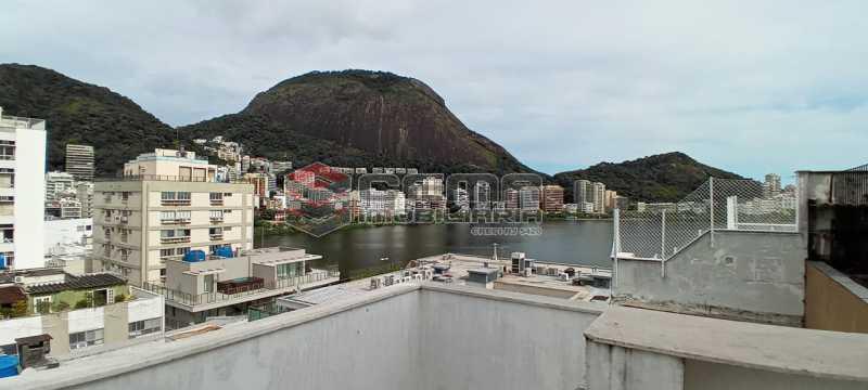 28-área externa 3º piso - Cobertura 3 quartos à venda Lagoa, Zona Sul RJ - R$ 2.000.000 - LACO30296 - 29
