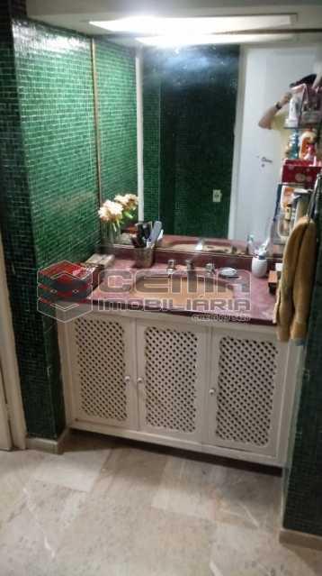banheiro 3 - Apartamento 4 quartos à venda Gávea, Zona Sul RJ - R$ 1.200.000 - LAAP40941 - 16