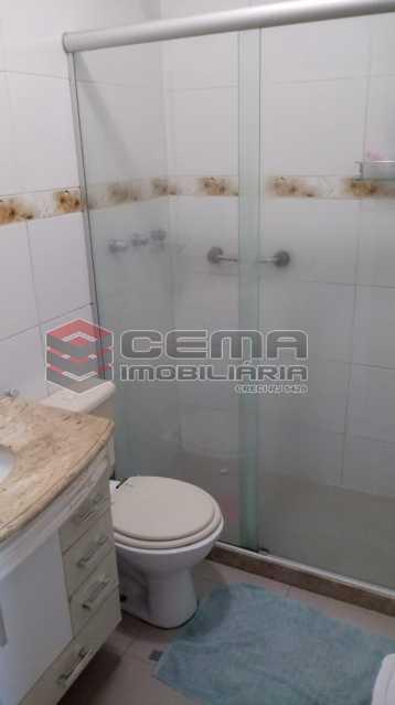 banheiro social - Apartamento 4 quartos à venda Gávea, Zona Sul RJ - R$ 1.235.000 - LAAP40941 - 14
