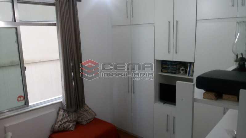 quarto 3 vista 1 - Apartamento 4 quartos à venda Gávea, Zona Sul RJ - R$ 1.235.000 - LAAP40941 - 12