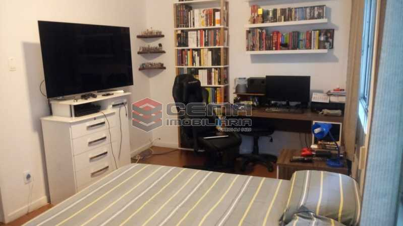 quarto 4 vista 1 - Apartamento 4 quartos à venda Gávea, Zona Sul RJ - R$ 1.235.000 - LAAP40941 - 13