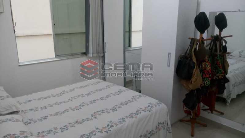 quarto 1 - Apartamento 4 quartos à venda Gávea, Zona Sul RJ - R$ 1.200.000 - LAAP40941 - 6