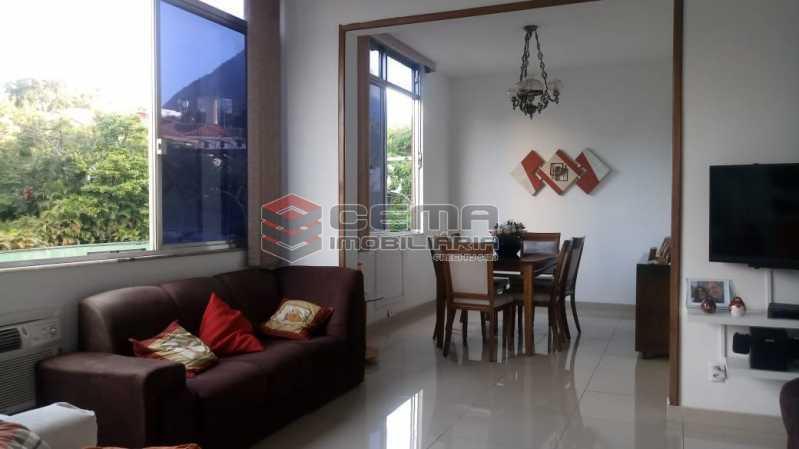 sala 2 - Apartamento 4 quartos à venda Gávea, Zona Sul RJ - R$ 1.235.000 - LAAP40941 - 3