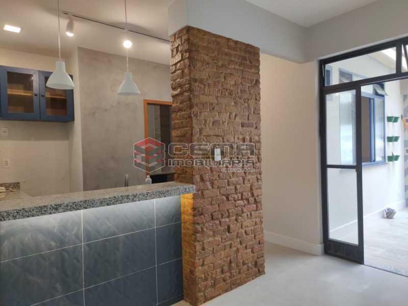 1 - Apartamento quarto e sala com area externa em Boatafogo - LAAP12824 - 5