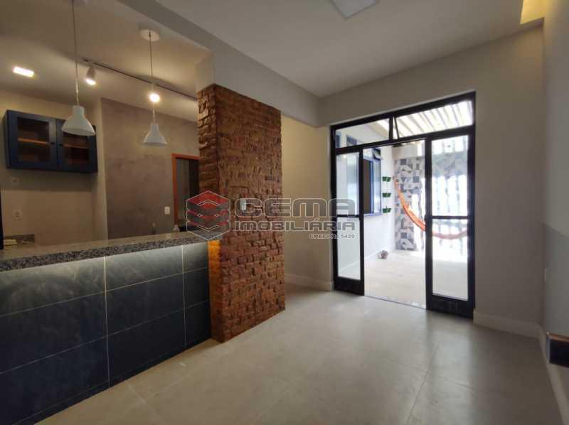 2 - Apartamento quarto e sala com area externa em Boatafogo - LAAP12824 - 1