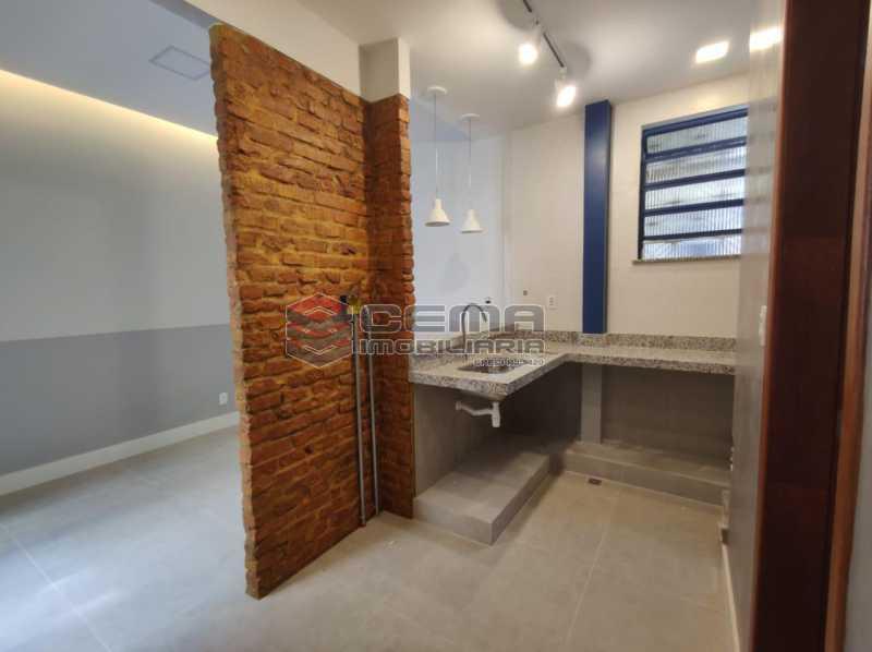 12 - Apartamento quarto e sala com area externa em Boatafogo - LAAP12824 - 13