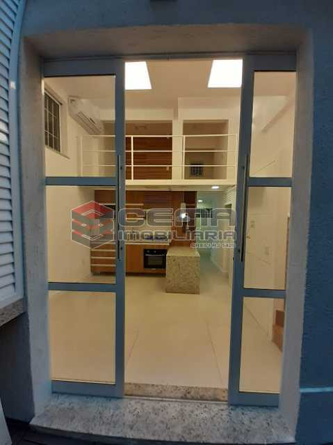 sala - Apartamento 1 quarto à venda Laranjeiras, Zona Sul RJ - R$ 459.000 - LAAP12825 - 3