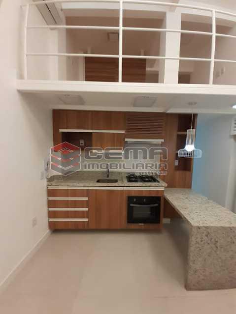 sala 2 - Apartamento 1 quarto à venda Laranjeiras, Zona Sul RJ - R$ 459.000 - LAAP12825 - 1