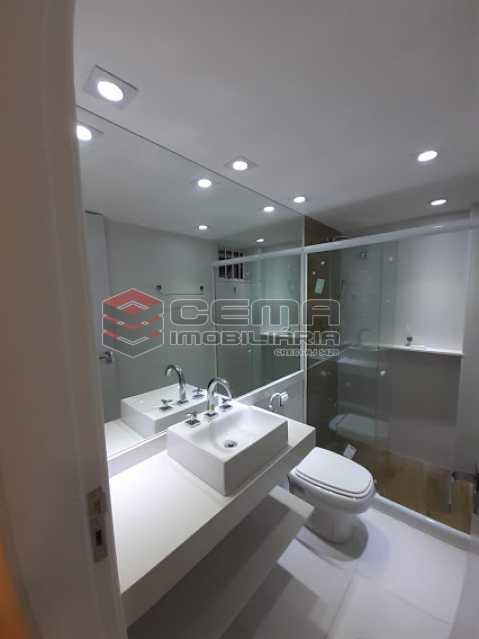 banheiro - Apartamento 1 quarto à venda Laranjeiras, Zona Sul RJ - R$ 459.000 - LAAP12825 - 9
