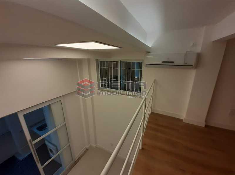 vista de cima 2 - Apartamento 1 quarto à venda Laranjeiras, Zona Sul RJ - R$ 459.000 - LAAP12825 - 5
