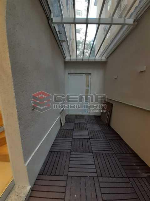 area circulação  - Apartamento 1 quarto à venda Laranjeiras, Zona Sul RJ - R$ 459.000 - LAAP12825 - 4