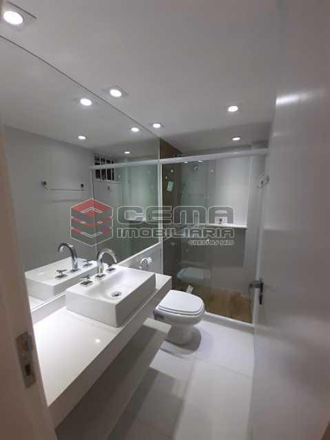 banheiro - Apartamento 1 quarto à venda Laranjeiras, Zona Sul RJ - R$ 459.000 - LAAP12825 - 10