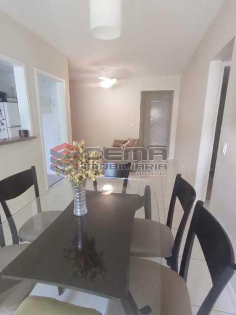 sala - Excelente Apartamento MOBILIADO com 2 quartos, suíte e vaga em Botafogo - LAAP25099 - 5