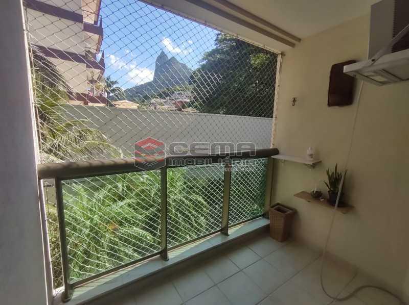 vista - Excelente Apartamento MOBILIADO com 2 quartos, suíte e vaga em Botafogo - LAAP25099 - 1
