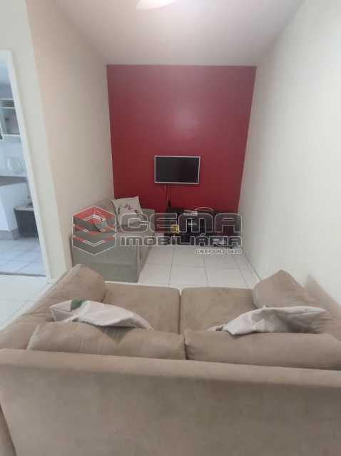 sala - Excelente Apartamento MOBILIADO com 2 quartos, suíte e vaga em Botafogo - LAAP25099 - 7