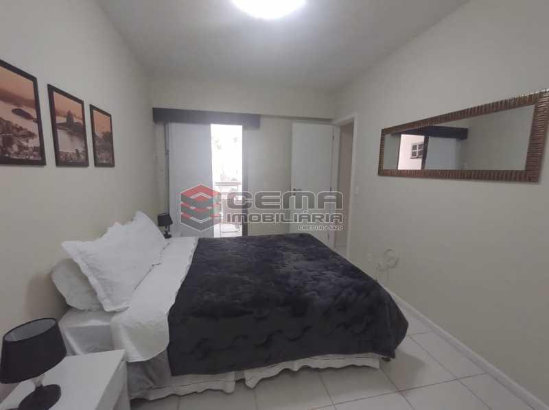 suite - Excelente Apartamento MOBILIADO com 2 quartos, suíte e vaga em Botafogo - LAAP25099 - 10