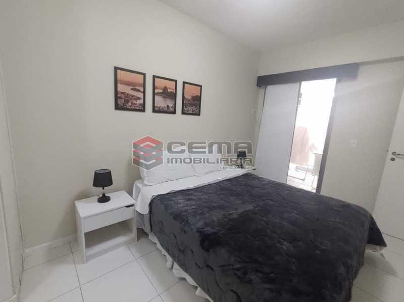 suite - Excelente Apartamento MOBILIADO com 2 quartos, suíte e vaga em Botafogo - LAAP25099 - 8