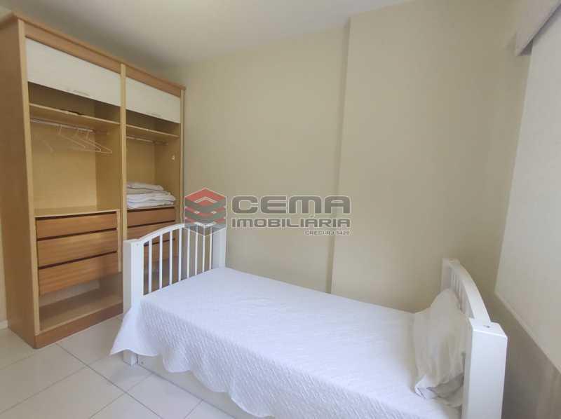 quarto2 - Excelente Apartamento MOBILIADO com 2 quartos, suíte e vaga em Botafogo - LAAP25099 - 16